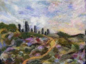 """Standing Stones"" by               Joan Slack"